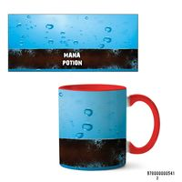"Кружка ""Mana potion"" (арт. 541, красная)"