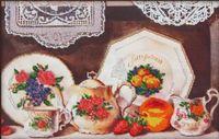 """Вышивка бисером """"Чайный сервиз"""" (арт. 60009)"""