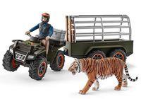 """Набор фигурок """"Квадроцикл с прицепом для перевозки животных"""""""