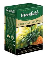 "Чай зеленый листовой ""Greenfield. Tropical Marvel"" (100 г)"