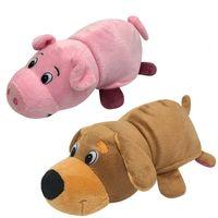 """Мягкая игрушка """"Вывернушка. Собака-свинья"""" (20 см)"""