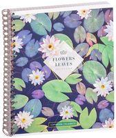 """Тетрадь общая в клетку """"Цветы. Leaves & Flowers"""" (96 листов; в ассортименте)"""