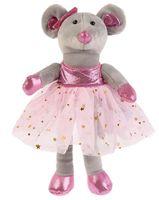 """Мягкая игрушка """"Мышка-балерина"""" (18 см)"""