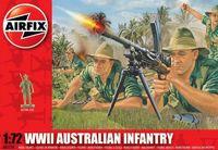 "Набор миниатюр ""Австралийская пехота WW.II"" (масштаб: 1/72)"