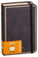 """Ежедневник Paperblanks """"Черная Марокканская кожа"""" на 2017 год (формат: 180x230 мм, ультра)"""