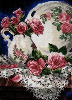 """Набор для вышивания """"Розы и кружева"""""""