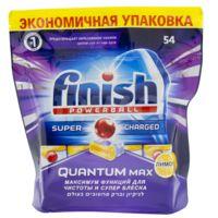 """Таблетки для посудомоечных машин """"Quantum Max. Лимон"""" (54 шт.)"""