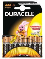 Батарейка DURACELL AAA LR03 MN1500 Alkaline (8 шт)