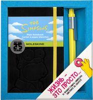 """Набор подарочный Молескин """"The Simpsons"""" (карманный; твердая черная обложка)"""