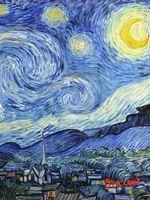 """Суперобложка """"Ван Гог. Звездная ночь"""""""