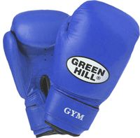 Перчатки боксёрские GYM BGG-2018 (12 унций; синие)