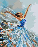 """Картина по номерам """"Балерина"""" (400х500 мм)"""