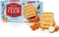 """Печенье сахарное """"English Club. Со вкусом карамели и орехов"""" (112 г)"""