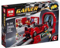 """Конструктор Gainer Champions """"Ferrari FXX K и Центр Разработки"""""""