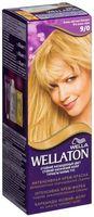"""Крем-краска для волос """"Wellaton. Интенсивная"""" (тон: 9/0, очень светлый блондин)"""