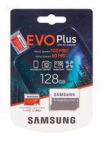 Карта памяти 128GB Samsung EVO plus microSDXC (MB-MC128HA/RU)