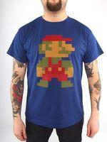 """Футболка """"Super Mario 8bit""""  (размер - S)"""