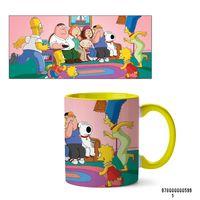 """Кружка """"Симпсоны"""" (арт. 599, желтая)"""