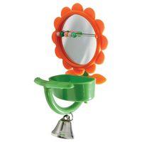 "Игрушка-зеркало для птиц ""Кормушка"" (15 см)"