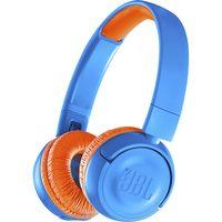Наушники с микрофоном JBL JR300BT (голубые)