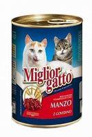 """Консервы для кошек """"Gatto"""" (405 г; говядина)"""