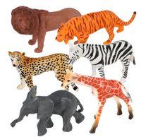 """Набор фигурок """"Jungle animal"""" (6 шт.)"""