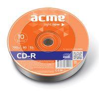 Диск CD-R 700Mb 52х Acme Bulk 10