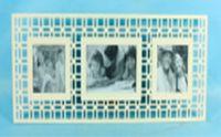 Фоторамка деревянная на 3 фотографии (арт. MF-9624A)