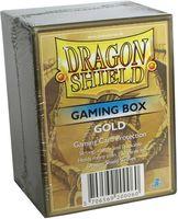 """Коробочка для карт """"Dragon Shield"""" (100 карт; золотая)"""