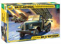"""Сборная модель """"Гвардейский реактивный миномёт """"Катюша"""" БМ-13"""" (масштаб: 1/35)"""