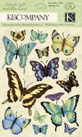 """Стикеры для скрапбукинга """"Мир растений. Бабочки"""""""