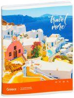 """Тетрадь общая в клетку """"Travel More"""" (96 листов; в ассортименте)"""