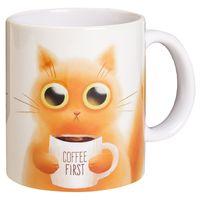 """Кружка """"Котик и кофе"""""""