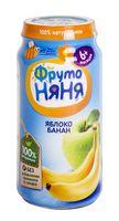 """Детское пюре ФрутоНяня """"Из яблок и бананов"""" (250 г)"""