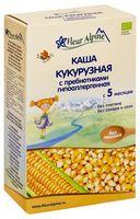 """Детская каша Fleur Alpine Organic """"Кукурузная с пребиотиками"""" (175 г)"""