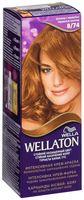 """Крем-краска для волос """"Wellaton"""" тон: 8/74, шоколад с карамелью"""