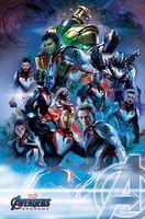 """Постер """"Avengers. Endgame. Quantum Realm Suits"""""""