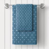 "Полотенце махровое ""Дорис"" (30x50 см; голубое)"