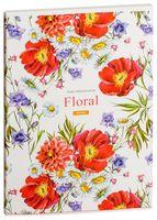 """Тетрадь в клетку """"Floral"""" (А4; 60 листов; в ассортименте)"""