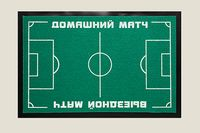 """Коврик придверный """"Футбольный"""" (40х60 см)"""