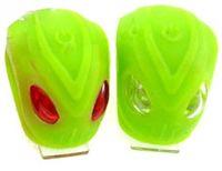 """Комплект освещения для велосипеда """"HW BS-FT215D"""" (зелёный)"""