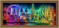 "Алмазная вышивка-мозаика ""Краски мира"" (700х300 мм)"