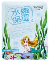 """Тканевая маска для лица """"Омолаживающая. С экстрактом морских водорослей"""" (30 г)"""