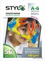 Глянцевая фотобумага Stylo 180 (500 листов, 180 г/м2, формат - А6 (10х15см))