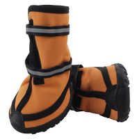 Ботинки (4,5х4,5х5,5 см; рыжие)