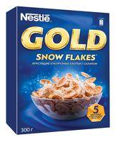 """Хлопья кукурузные глазированные """"Nestle. Gold"""" (300 г)"""