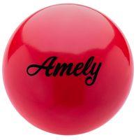 Мяч для художественной гимнастики AGB-101 (15 см; красный)