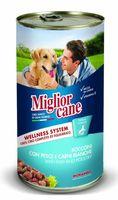 """Консервы для собак """"Cane"""" (1,25 кг; рыба и птица)"""