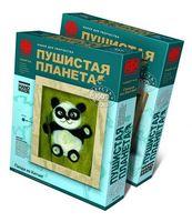 """Картина из шерсти """"Панда"""""""