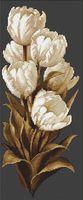 """Вышивка крестом """"Тюльпаны"""" (130х320 мм)"""